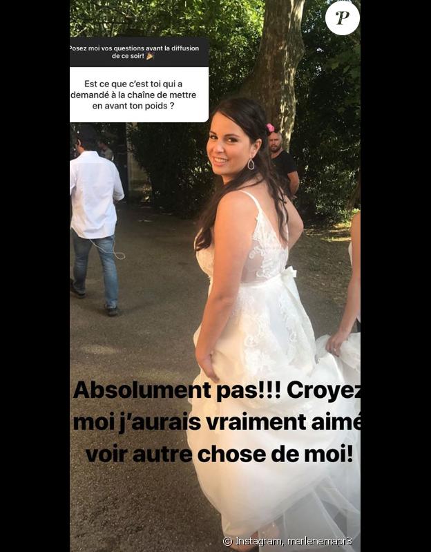 """Marlène de """"Mariés au premier regard 3"""" répond aux questions de ses abonnés - Instagram, 25 février 2019"""