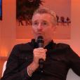 """Denis Brogniart fait quelques confidences sur le dispositif de sécurité mis en place pour """"Koh-Lanta : la guerre des chefs"""" (TF1) en février 2019 pour """"Purepeople.com""""."""