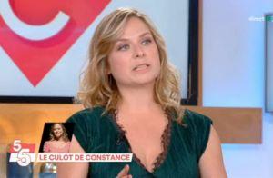 Constance en larmes après le rappel de sa chronique topless :