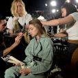 """Gigi Hadid - Coulisses du défilé Off-White™ """"Collection Prêt-à-Porter Automne/Hiver 2019-2020"""" lors de la Fashion Week de Paris (PFW), le 28 février 2019. © Veeren/CVS/Bestimage"""