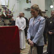 Elena d'Espagne : Ovationnée, l'infante baise les pieds du Christ de Medinaceli