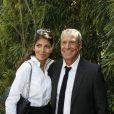 Jean-Claude Darmon et Hoda Roche à Roland Garros le 3 juin 2009