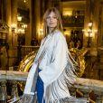 """Constance Jablonski - People au défilé de mode prêt-à-porter autome-hiver 2019/2020 """"Stella McCartney"""" à Paris le 4 mars 2019. © Olivier Borde/Bestimage"""