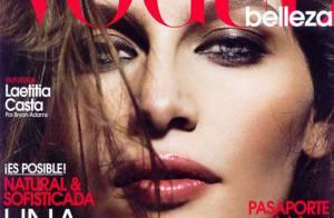 Laetitia Casta très sensuelle et très brune, le résultat est juste... Whaou !