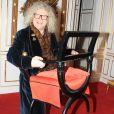 Exclusif - Pierre-Jean Chalençon - Dîner privé chez lui au palais Vivienne à Paris, France, le 28 janvier 2019. © Philippe Baldini/Bestimage
