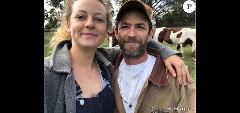 Sophie Perry s'exprime sur Instagam après la mort de son père, Luke Perry. Instagram le 5 mars 2019.