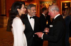George Clooney et Amal : Tenue de gala et dîner au palais avec le prince Charles