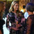 La princesse Madeleine de Suède lors de la soirée de gala de la World Childhood Foundation USA à New York le 3 octobre 2018.