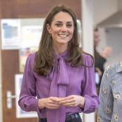 Kate Middleton aurait-elle porté sa blouse Gucci à l'envers ?