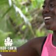 """Béatrice lors du premier épisode de """"Koh-Lanta, la guerre des chefs"""" (TF1) vendredi 15 mars 2019."""