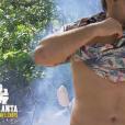"""Brice lors du premier épisode de """"Koh-Lanta, la guerre des chefs"""" (TF1) vendredi 15 mars 2019."""
