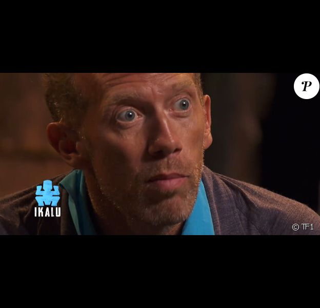 """Frédéric lors du premier épisode de """"Koh-Lanta, la guerre des chefs"""" (TF1) vendredi 15 mars 2019."""
