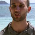 """Maxime lors du premier épisode de """"Koh-Lanta, la guerre des chefs"""" (TF1) vendredi 15 mars 2019."""