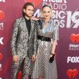 "Zedd, Katy Perry au photocall des ""2019 iHeart Radio Music Awards"" au Microsoft Theatre à Los Angeles, le 14 mars 2019."