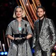 Katy Perry et Zedd - iHeartRadio Music Awards 2019 au Microsoft Theatre. Los Angeles, le 14 mars 2019.