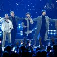 Le groupe Backstreet Boys - iHeartRadio Music Awards 2019 au Microsoft Theatre. Los Angeles, le 14 mars 2019.