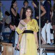 Margherita Missoni à la soirée organisée par la famille Missoni en l'honneur de l'artiste Bruce Nauman, hier à la 53ème Biennale de Venise