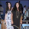 Teresa et Angela Missoni à la soirée organisée par la famille Missoni en l'honneur de l'artiste Bruce Nauman, hier à la 53ème Biennale de Venise