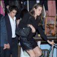 Charlotte Casiraghi et son chéri Alex Dellal à la soirée organisée par la famille Missoni en l'honneur de l'artiste Bruce Nauman, hier à la 53ème Biennale de Venise