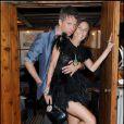 Jefferson Hack (ex de Kate Moss) et Laetitia Crahay (créatrice des bijoux Chanel) à la soirée organisée par la famille Missoni en l'honneur de l'artiste Bruce Nauman, hier à la 53ème Biennale de Venise