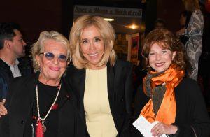 Brigitte Macron tout sourire non loin de Carla Bruni pour un soir de gala