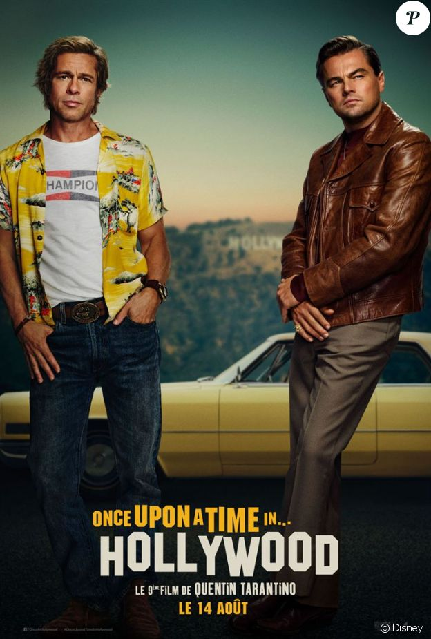 Affiche du film Once Upon a Time in Hollywood, en salles le 14 août 2019