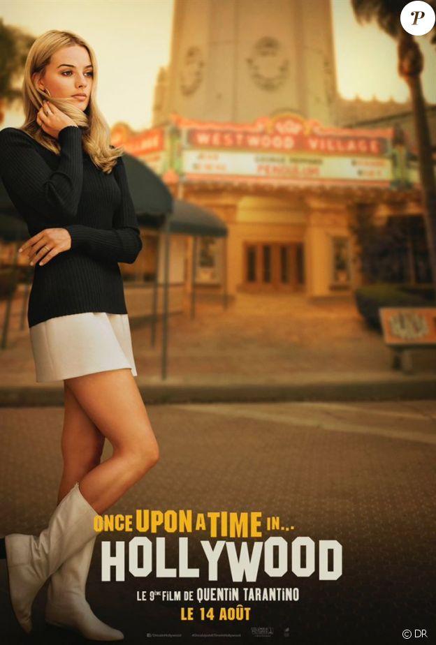 Affiche de Once Upon a Time in Hollywood, en salles le 14 août 2019