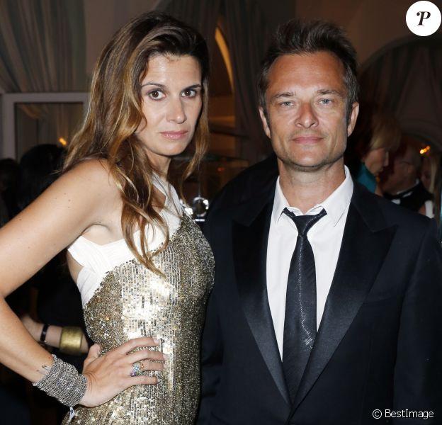 David Hallyday et sa femme Alexandra - Interieur de la soiree de Grisogono a l'Eden Roc au Cap d'Antibes lors du 66eme festival du film de Cannes. le 21 mai 2013