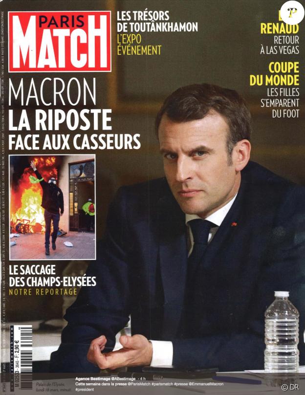 Paris Match, en kiosques le 21 mars 2019.