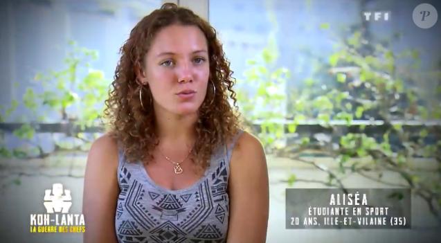 """Aliséa, candidate de """"Koh-Lanta, la guerre des chefs"""" (TF1)."""