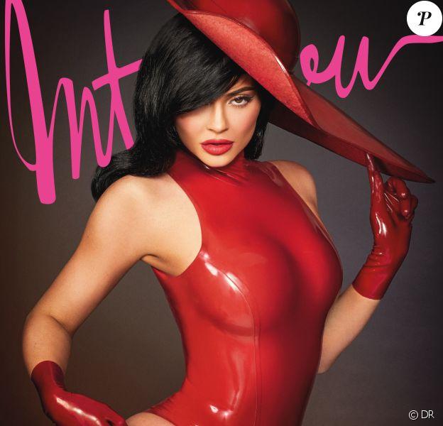 Kylie Jenner en couverture du nouveau numéro d'Interview (édition allemande). Photo par les Frères Morelli.