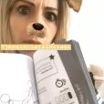 Alexandra Rosenfeld coquine et pleine d'humour sur Instagram le 23 mars 2019.