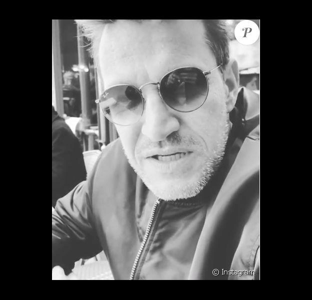 Benjamin Castaldi tacle Line Renaud, le 24 mars 2019.