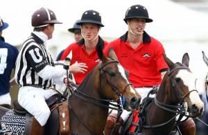 Quand le prince William et le prince Harry s'éclatent entre frères, sous les yeux de Kate Middleton... c'est sportif ! (réactualisé)