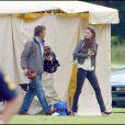 Kate Middleton a encouragé les princes William et Harry lors d'un match de polo de charité