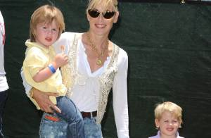 Sharon Stone, Denise Richards, Pete Wentz, son Ashlee Simpson et Melissa Joan Hart... week-end avec leurs enfants !