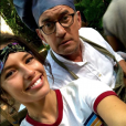 """La belle Ninon Dechavanne en Afrique du Sud pendant que son père Christophe Dechavanne tournait la 2e saison de """"Je suis une célébrité, sortez-moi de là"""" (TF1)."""