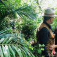 """Ninon Dechavanne en Afrique du Sud pendant que son père Christophe Dechavanne tournait la 2e saison de """"Je suis une célébrité, sortez-moi de là"""" (TF1)."""