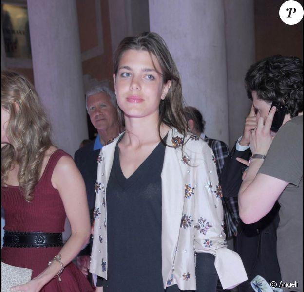 """Charlotte Casiraghi, lors de la soirée """"Vogue"""", à l'occasion de la 53e Biennale d'Art de Venise, le 5 juin 2009 !"""