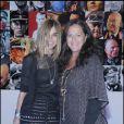 """Carine Roitfeld et Angela Missoni, lors de la soirée """"Vogue"""", à l'occasion de la 53e Biennale d'Art de Venise, le 5 juin 2009 !"""