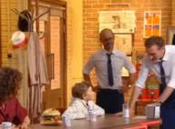 Jean-Paul Rouve incruste son adorable fils, le jeune Clotaire, dans Burger Quiz