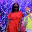 Exclusif - Aya Nakamura, J Balvin - People au défilé Kenzo Homme collection Automne-Hiver 2019/20 lors de la fashion week à Paris, le 20 janvier 2019. © Veeren/CVS/Bestimage