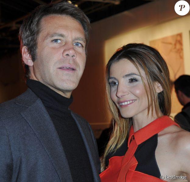 """Le prince Emmanuel-Philibert de Savoie et la princesse de Savoie Clotilde Courau - Soiéee """"Make Up For Ever"""" au Palais de Tokyo a Paris le 31 Janvier 2013."""