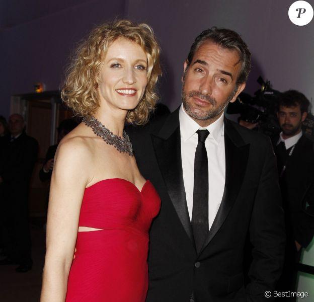 Alexandra Lamy et Jean Dujardin au festival de Cannes 2012