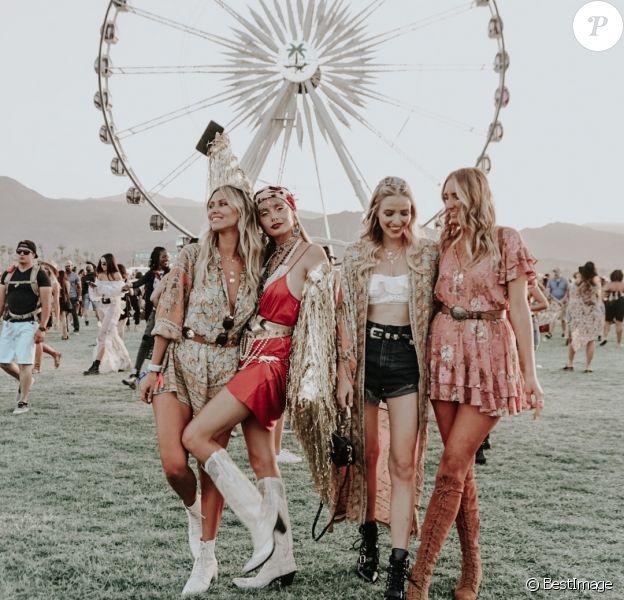 Festival de Musique de Coachella à Indio, le 16 avril 2018.