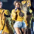Beyonce en concert au festival de musique de Coachella à Indio, Californie, Etats-Unis, le 15 avril 2018. © Danyellah P./Bestimage