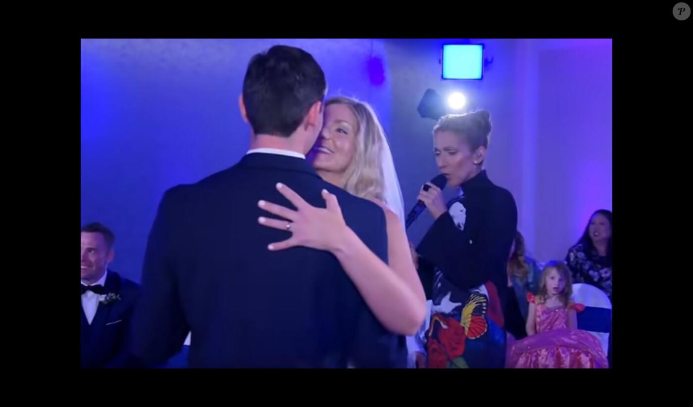 Céline Dion débarque en plein mariage d\u0027anonymes à Las Vegas