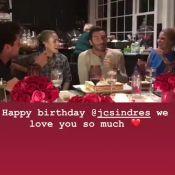 Laeticia Hallyday ressort une vidéo d'anniversaire avec Johnny et Kev Adams !