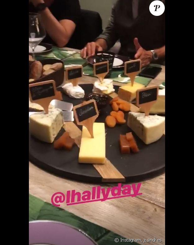 Jean-Claude Sindres a passé la soirée avec Laeticia Hallyday le 8 avril 2019, à Los Angeles.