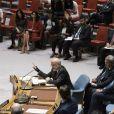 Ibrahim Abdulkarim Al-Jafari, Amal Clooney et Nadia Murad Basee lors de la 72ème assemblée générale de l'organisation des Nations-Unis (ONU) à New York City, New York, Etats-Unis, le 21 septembre 2017.